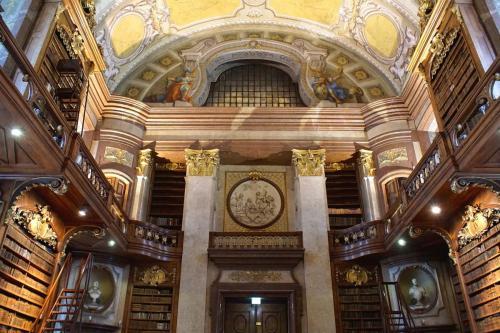 Vienna - Biblioteca Nazionale